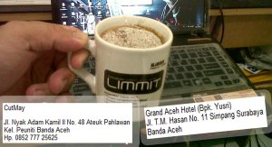 Kopi LIMMIT Banjarmasin, Kopi LIMMIT Aceh